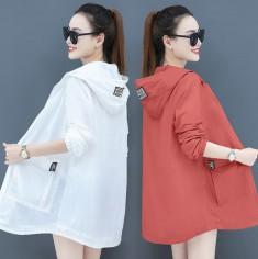 Áo khoác nữ thời trang phối nón - KV2024
