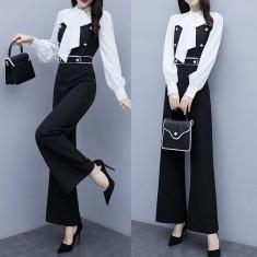 Jumsuit phối màu thời trang - KT2279
