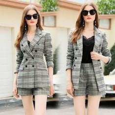 Bộ vest caro 2 món - KT2946