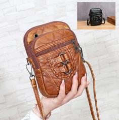 Túi đeo chéo phối khóa nhiều ngăn - PX014